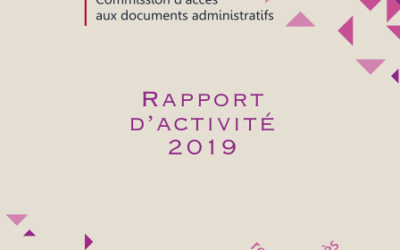 Annual report of the Commission for access to administrative documents