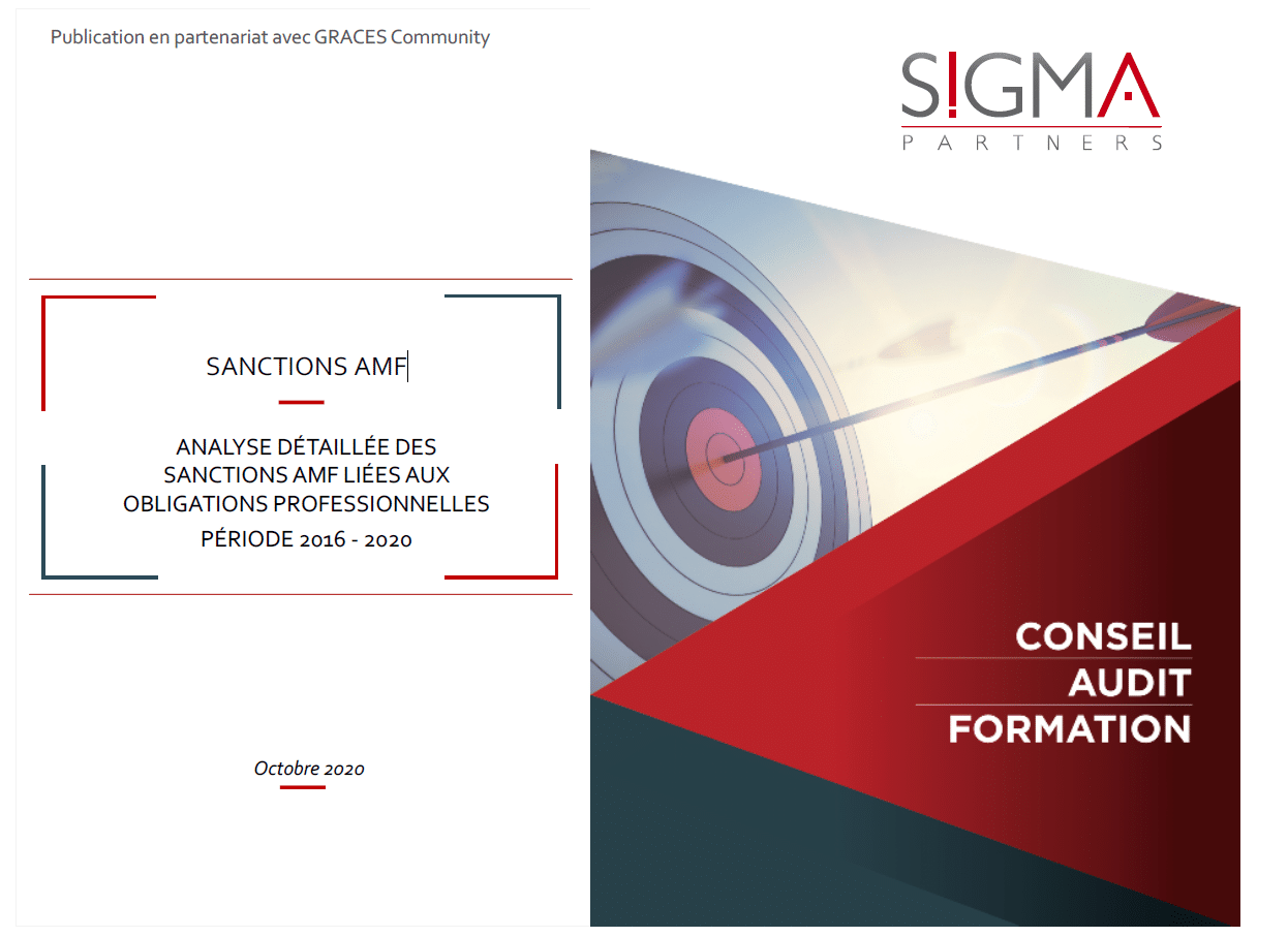 AMF sanctions - Detailed analysis of AMF sanctions related to professional obligations / SIGMA Partners