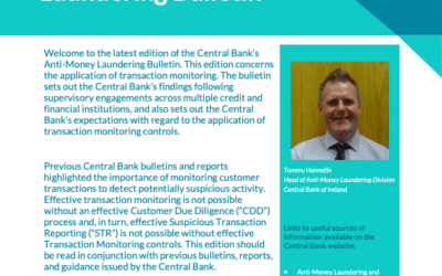 Central Bank Ireland: Anti-Money Laundering Bulletin