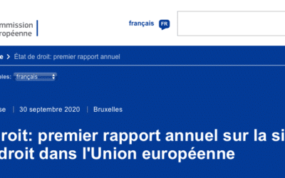 EU: Rule of Law Report 2020 - Country Chapter France