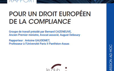 Report: For a European compliance law