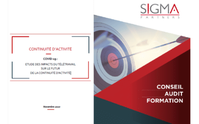 Covid-19: Study of the impacts of teleworking on the future of business continuity / SIGMA Partners