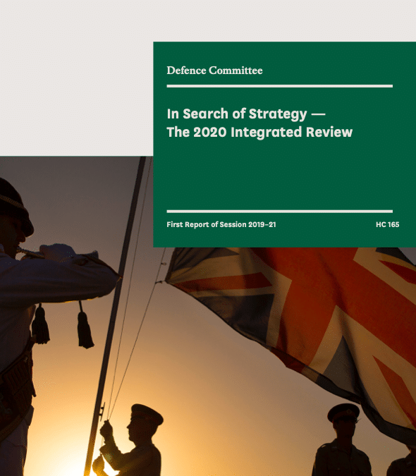 UK Integrated Review 2020