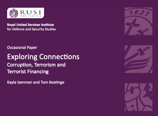 Exploring Connections: Corruption, Terrorism and Terrorist Financing