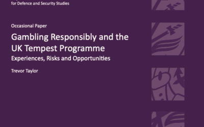 Gambling Responsibly and the UK Tempest Program: Experiences, Risks and Opportunities