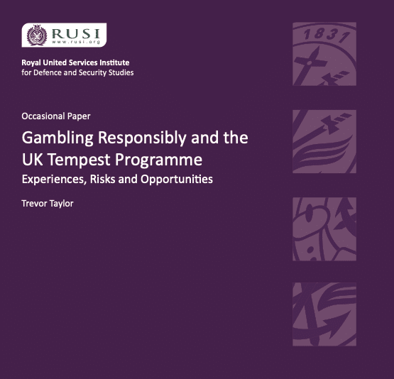 Gambling Responsibly and the UK Tempest Programme: Experiences, Risks and Opportunities