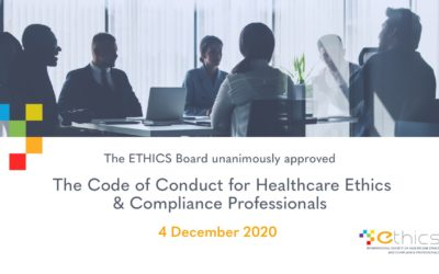 Ethics Code of Conduct is now live!