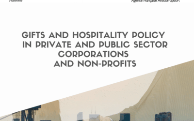 GIFTS AND HOSPITALITY POLICY IN PRIVATE AND PUBLIC SECTOR CORPORATIONS AND NON-PROFITS
