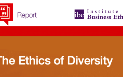 IBE : the Ethics of Diversity – report