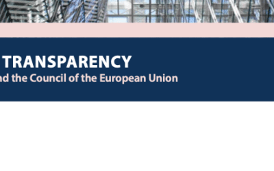 Openness and transparency at the European Council and the Council of the European Union