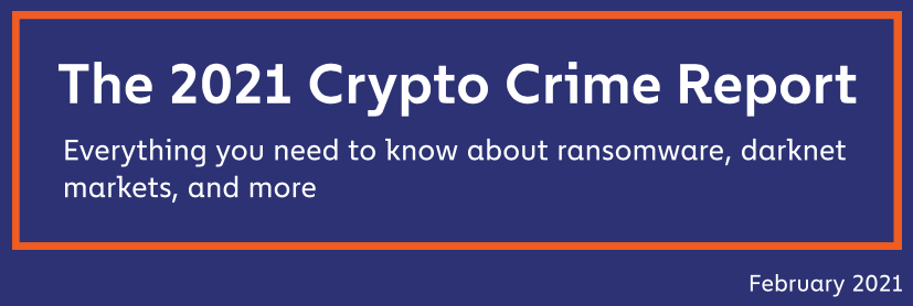 CHAINALYSIS Crypto Crime Report 2021