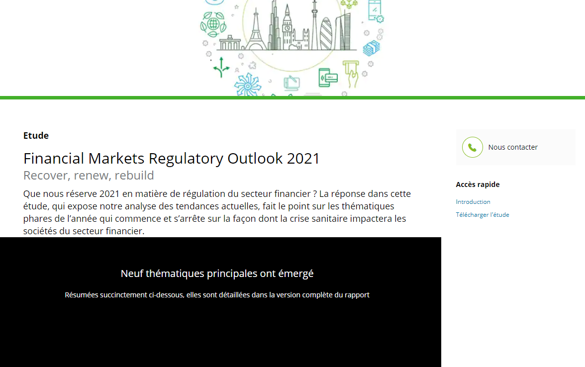 Perspectiva regulatoria de los mercados financieros 2021