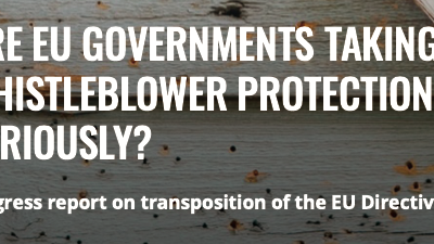 ARE EU COUNTRIES TAKING WHISTLEBLOWER PROTECTION SERIOUSLY?
