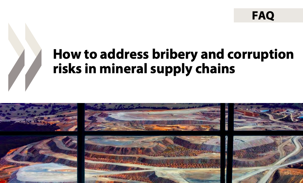 OCDE 2021 : FAQ: How to address bribery and corruption risks in mineral supply chains