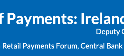 The future of payments in Ireland and Europe by the Bank for International Settlements (BIS)